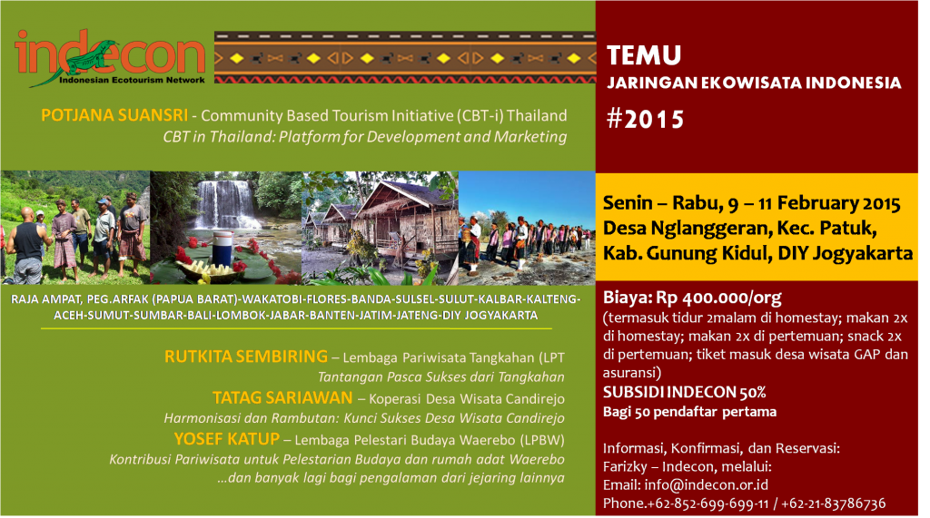 FLYER TEMU JARINGAN INDECON 2015