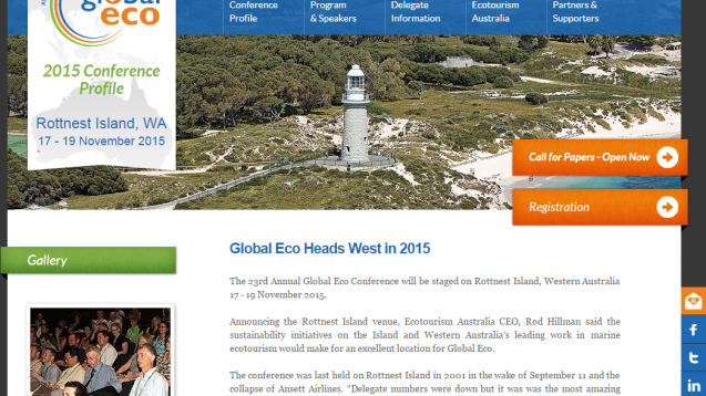 Global Eco  Asia Pacific Tourism Conference