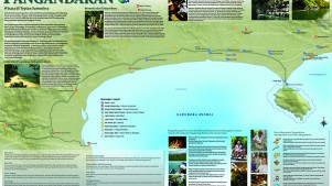 Tourism Map: Pangandaran