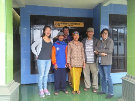 Survey Homestay in Bromo, East Java and Candirejo, Central Java
