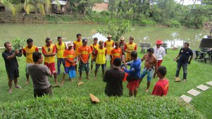 Further Lifeguard Education and Training in Sawarna Village