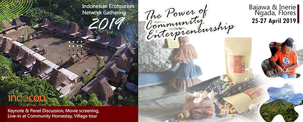 INDONESIA ECOTOURISM GATHERING 2019